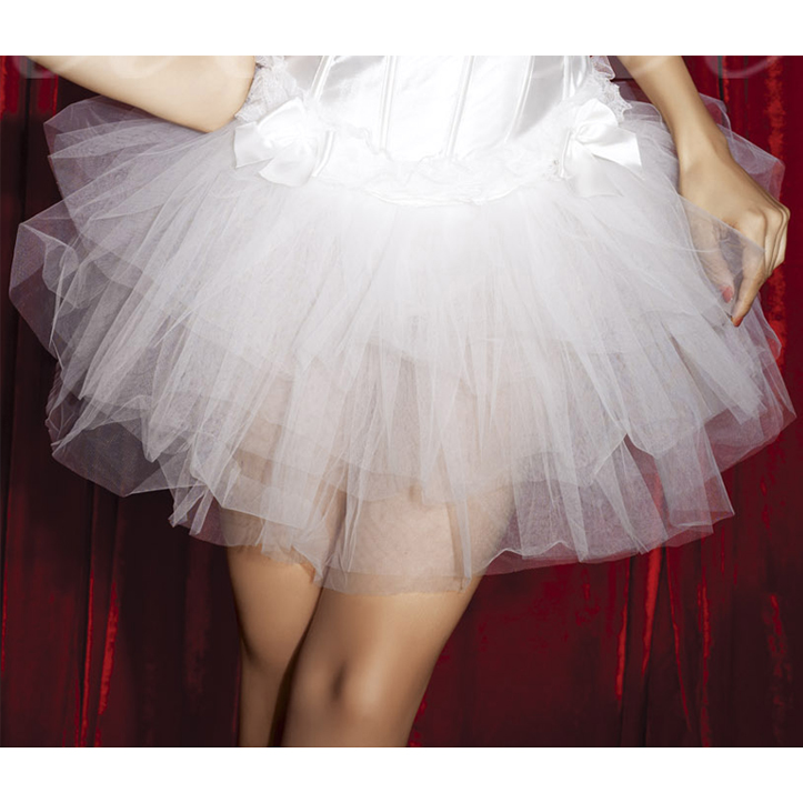 Wholesale Ballerina Style Mesh Skirt SEP560