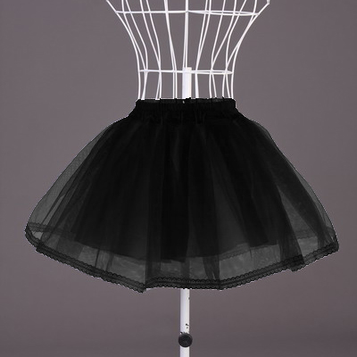 Wholesale Black Organza Petticoat SEP515