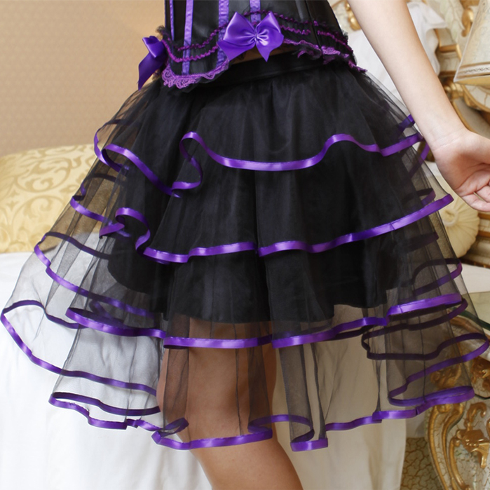 Wholesale Purple Petticoat SEP555