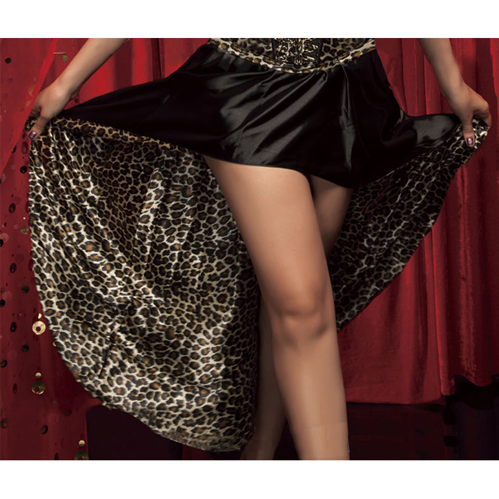 Wholesale Reversible Leopard Skirt SEP523