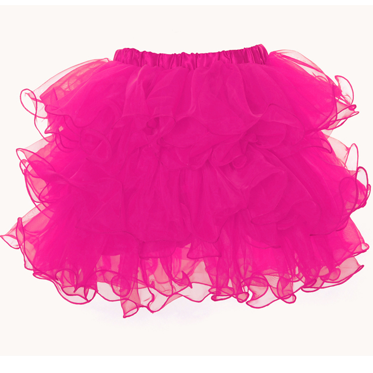 Wholesale Rose Organza Skirt SEP536