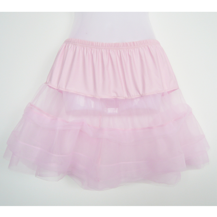 Wholesale Satin trimmed petticoat SEP572