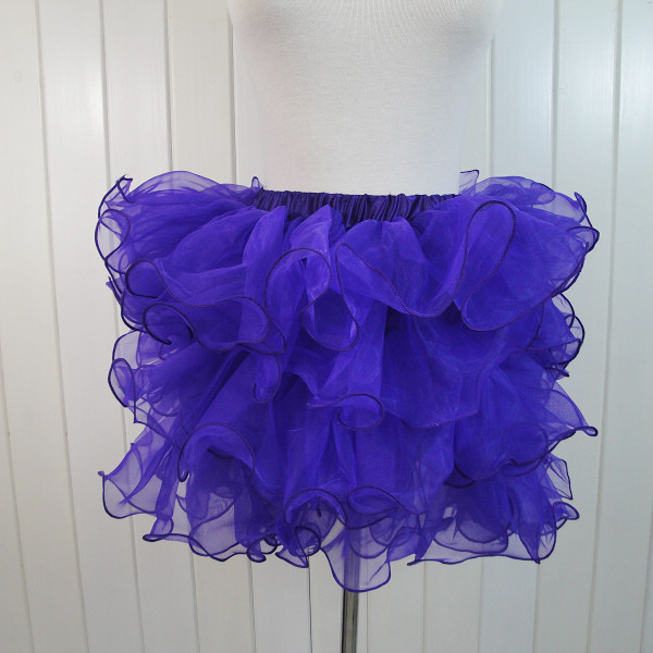 Wholesale blue Organza Skirt SEP541