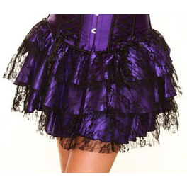 Wholesale purple mini Skirt SEP550
