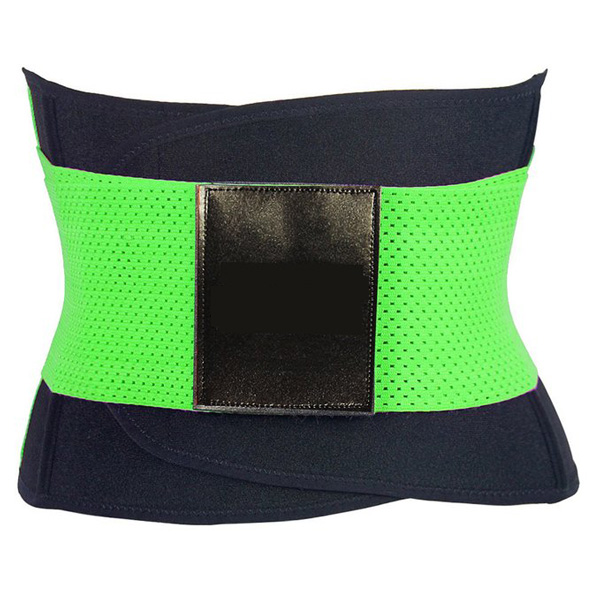 Xtreme Belt Power Shapers Hot Slimming Waist Gym Trainer Corset Green LC9122