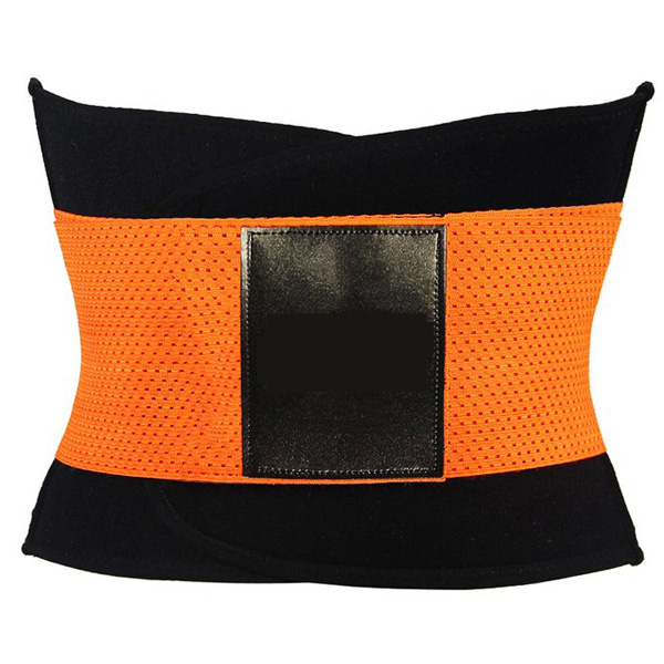 Xtreme Belt Power Shapers Hot Slimming Waist Gym Trainer Corset Orange LC9123