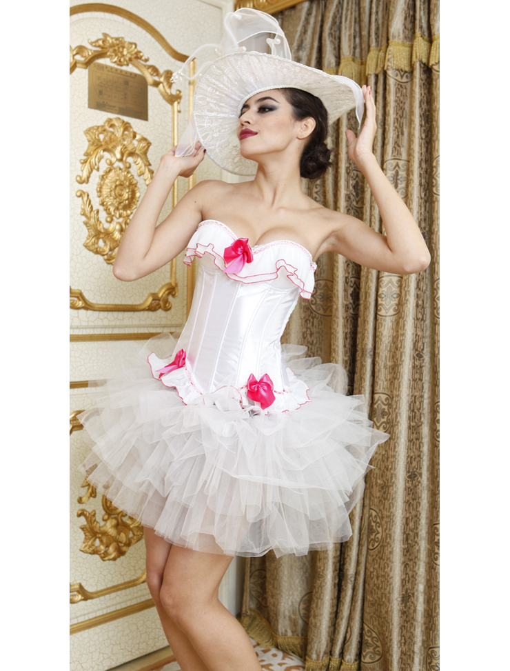 Wholesale Bridal Corset & Pettiskirt CPS505