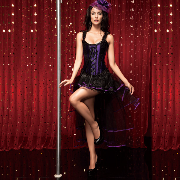 Wholesale Burlesque Queen Costume CPS513