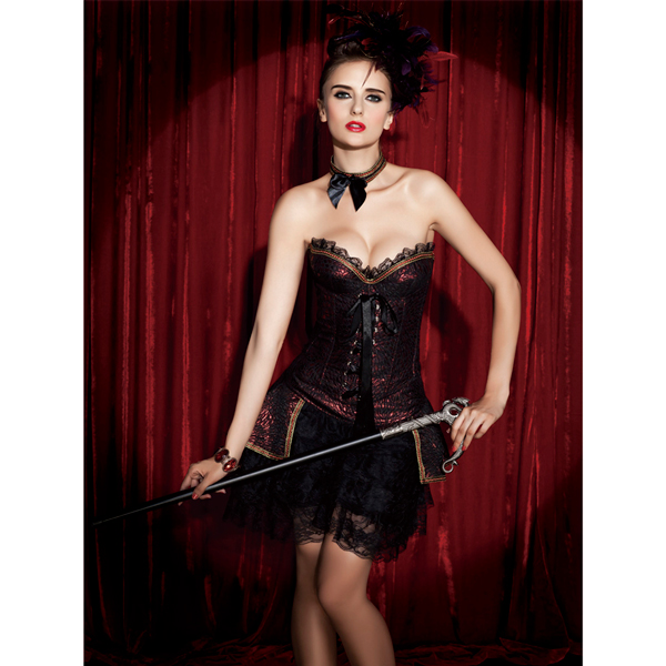 Wholesale Corset & skirt set CPS539