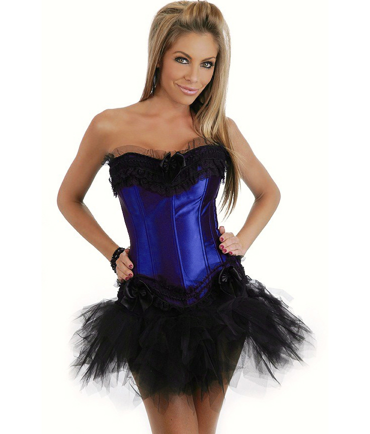 Wholesale Burlesque Corset & Pettiskirt CPS575