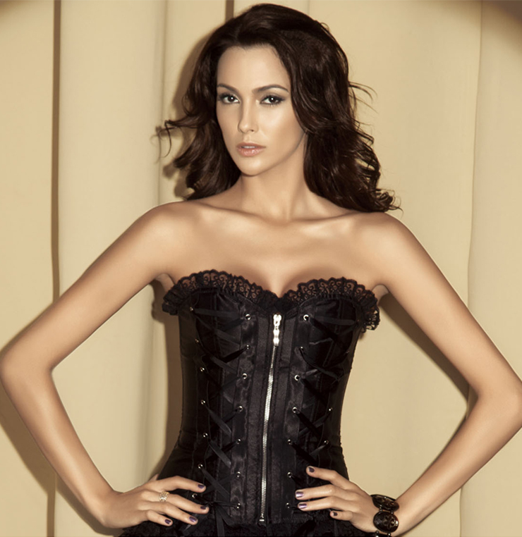 Wholesale Black Corset OUC751