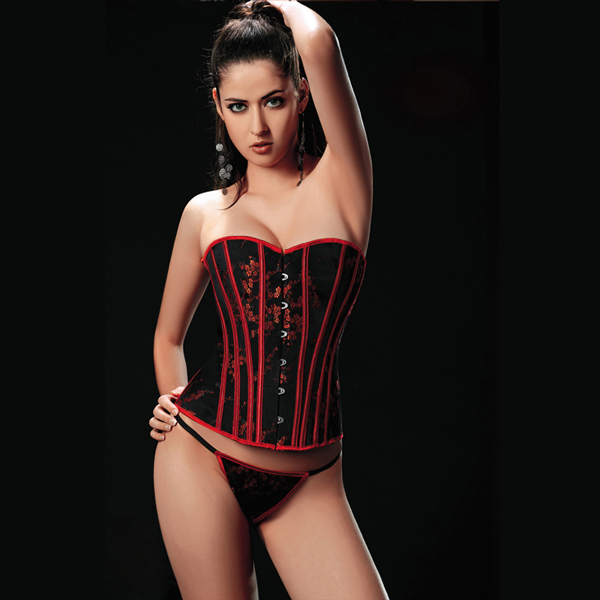 Wholesale Brocade Corset OUC1142