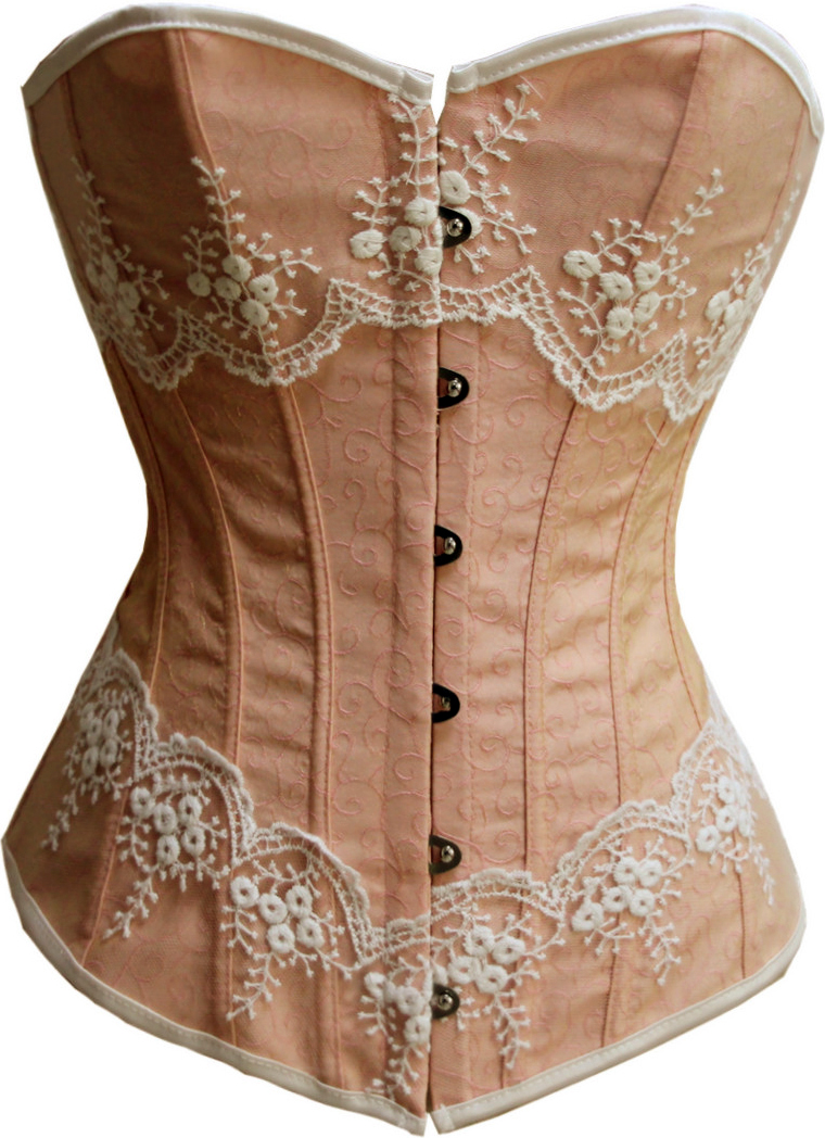 Wholesale Brocade Fabric Corset OUC520 [OUC520]