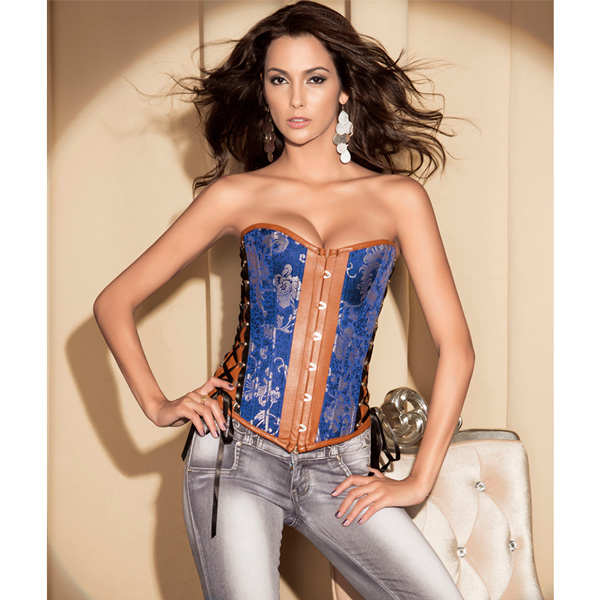 Wholesale Corset Sexy Peacock OUC747