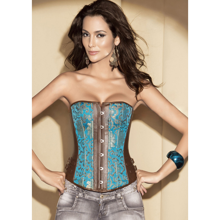 Wholesale Corset Sexy Peacock OUC748