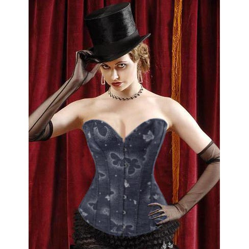 Wholesale Dream Butterfly Printed Corset OUC726