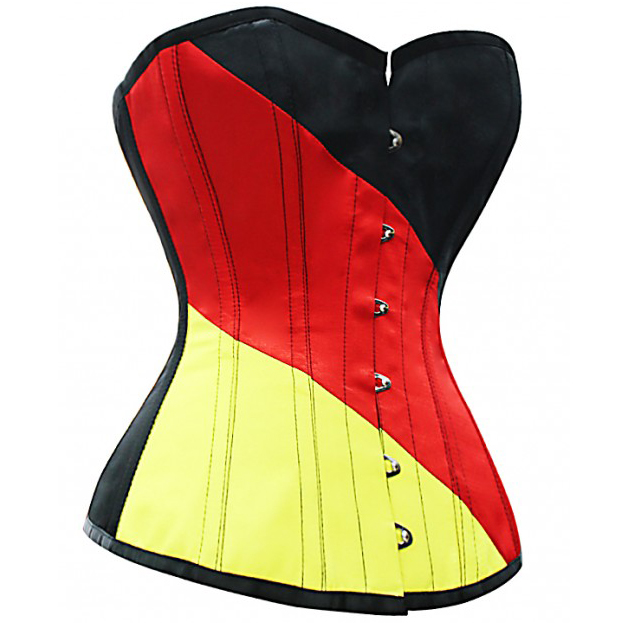 Wholesale Fashion German Flag Corset OUC582
