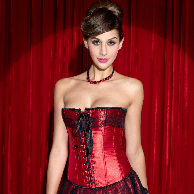 Wholesale Lace-Up Corset OUC756