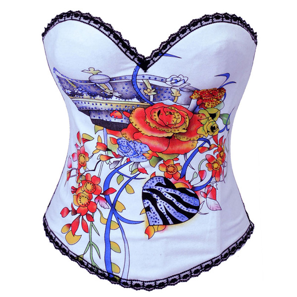 Wholesale Magic Printed Corset OUC812