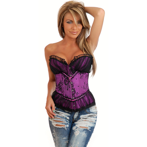 Wholesale Peasant Burlesque Corset OUC891