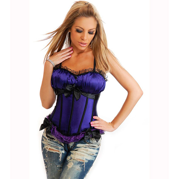 Wholesale Peasant Burlesque Corset OUC950