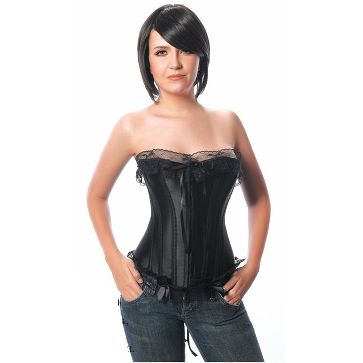 Wholesale Ribbon Strapless Corset OUC1127