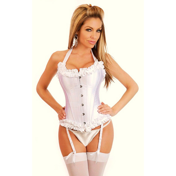 Wholesale Ruffled Edges Corseta OUC1070