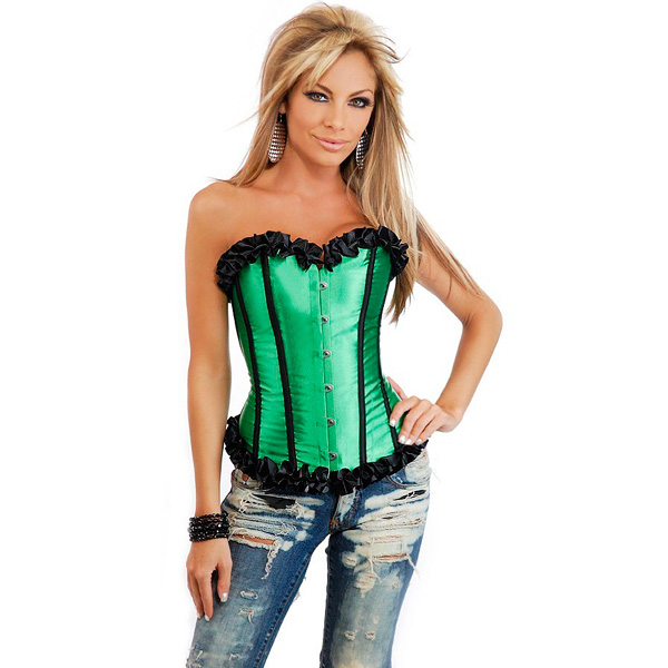 Wholesale Strapless Burlesque Corset OUC1050