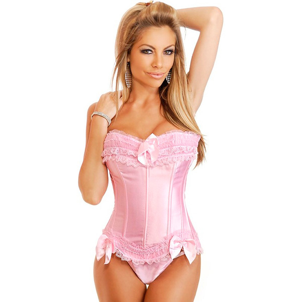 Wholesale Strawberry Shortcake Burlesque Corset OUC993