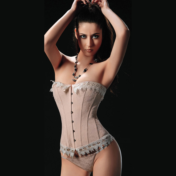 Wholesale Teardrop Strapless Corset OUC1103
