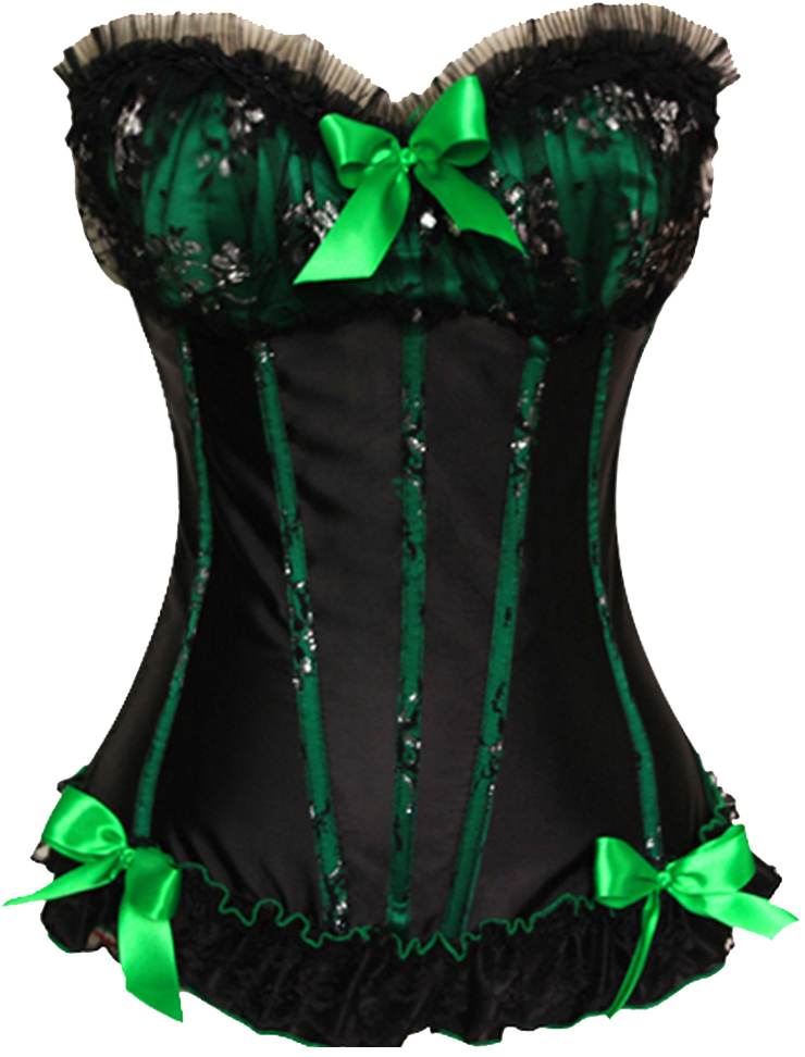 Wholesale Victorian Dreams Bow Corset OUC886