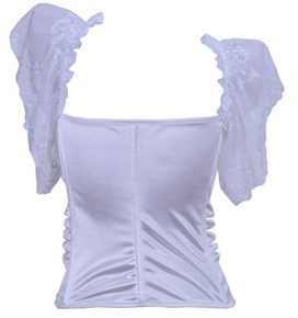 Wholesale white bustier OUC697