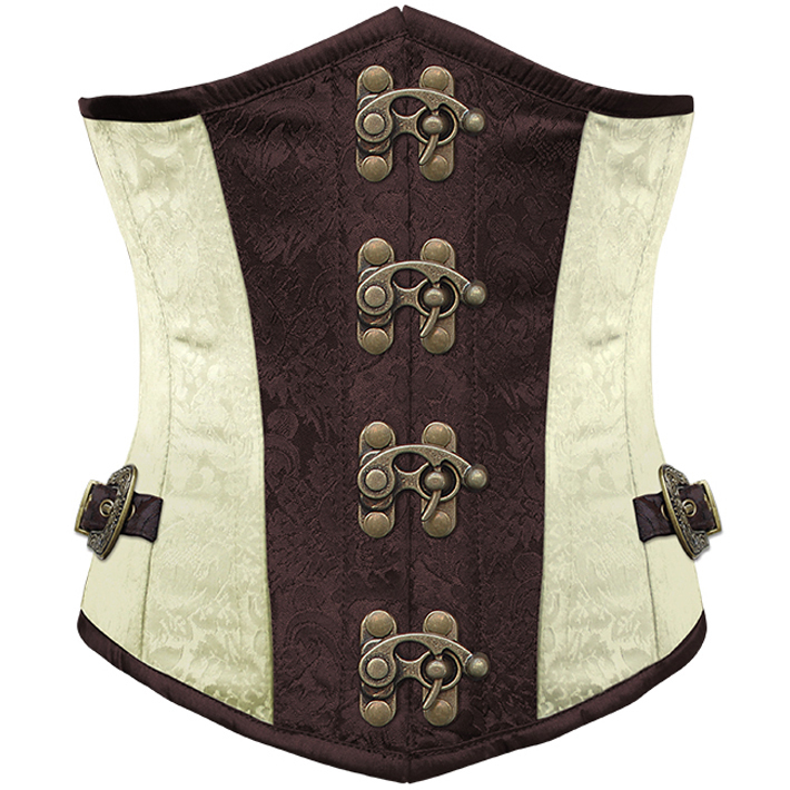 Wholesale Brocade Steel Boned Underbust Corset UNC515