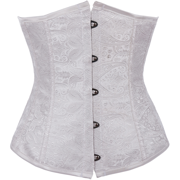 Wholesale Noble Excellent Brocade Underbust Corset UNC505