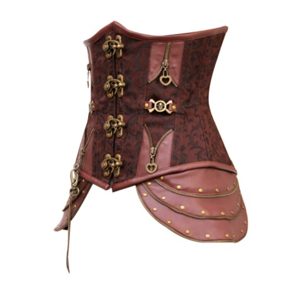 Wholesale Steampunk Steel Boned Corset UNC520