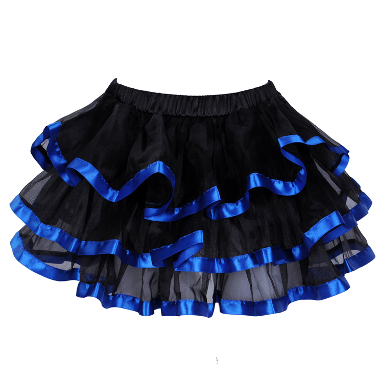 Wholesale Blue stripe Pettiskirt SEP525