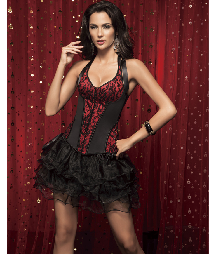 Wholesale Halter Corset & Tutu Skirt CPS519