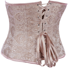 Wholesale Palace Embossed Pattern Underbust Corset UNC504